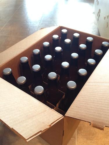 We were 2 bottles shy of the full 48...