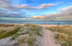 muzzpix-nz posted a photo:Facebook    | 500px  | WebsiteSoon to be summer holidays down this part of the globe . But for the moment there is not a soul to be seen on the sandy beach . Waihi beach in the Bay of Plenty , New Zealand .