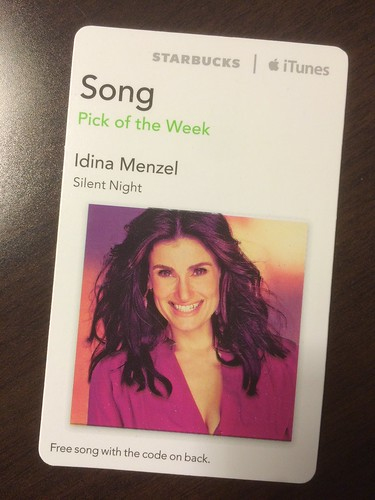 Starbucks iTunes Pick of the Week - Idina Menzel - Silent Night