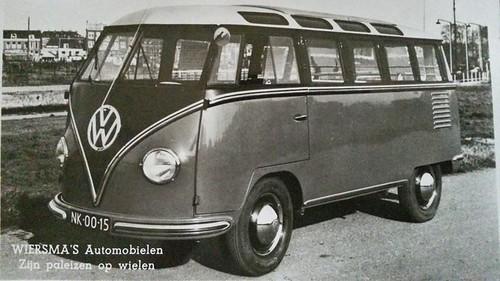 NK-00-15 Volkswagen Transporter Samba 23raams 1951