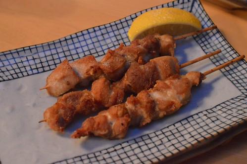 Yakitori with salt