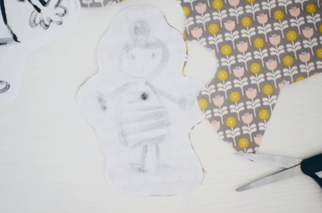 child-drawn softies