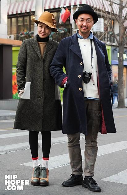 【街拍】十二月韓國街頭直擊