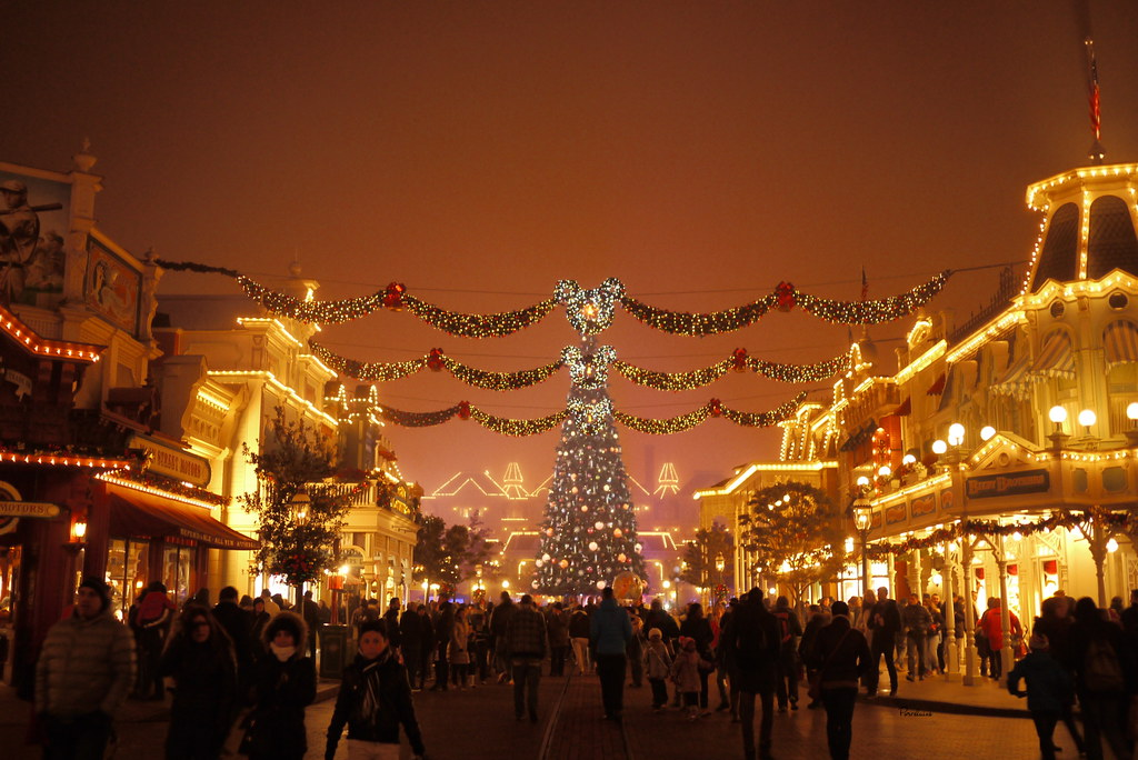 disneyland paris noel 2014