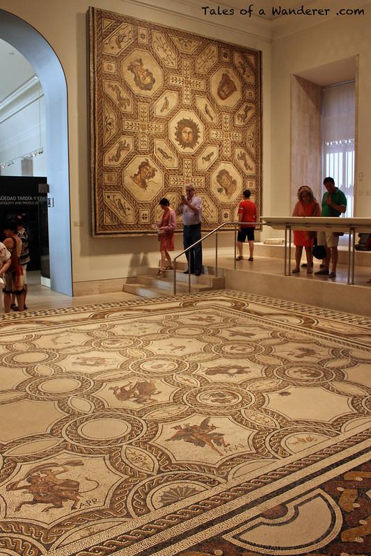 MADRID - Museo Arqueológico Nacional - Mosaicos romanos