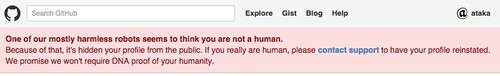 github-not-human-warning