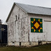 Barn Quilt On The Corner