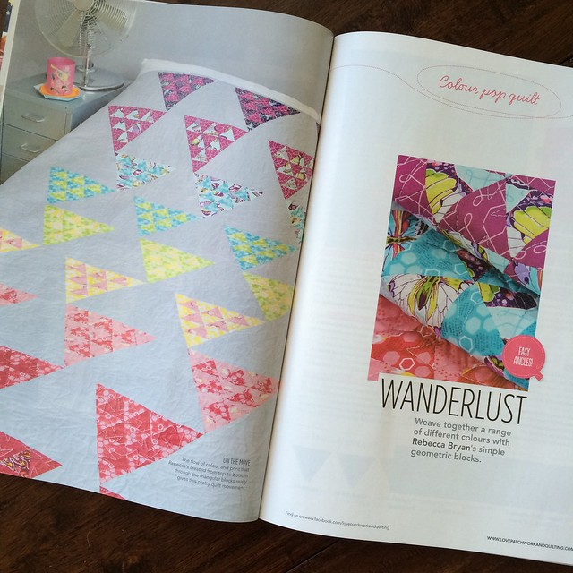 "Don't name your quilts ""Wanderlust"""