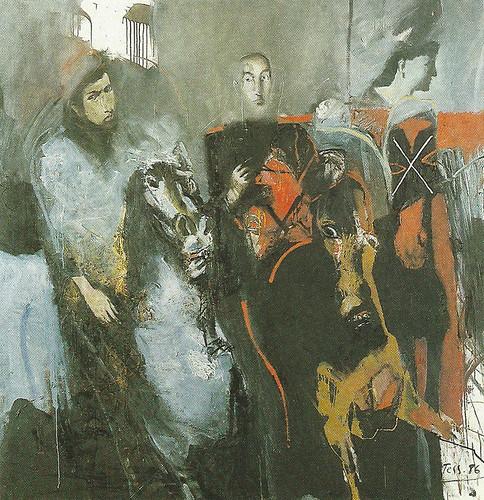 Reitergruppe