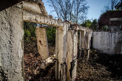 school abandoned ruins unitedstates southcarolina fairfieldcounty jenkinsville