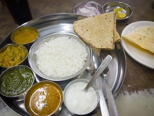 Veg. Thali in Civil Restaurant @ Mumbai