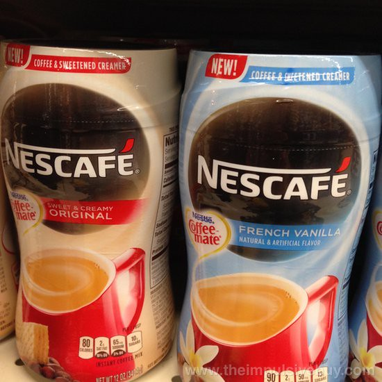 Nescafe Coffee & Sweetened Creamer (Original and French Vanilla)