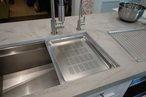 Kohler Galley Sink : If you would like to serve at the sink. Faucets can swivel out of the ...