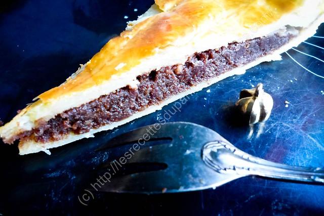 Galette des rois à la frangipane au chocolat / Chocolate Frangipane Twelfth Night Cake / French Chocolate Frangipane King Cake