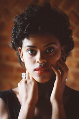 black hair, face, hairstyle, model, portrait photography, hair, afro, fashion, photo shoot, close-up, beauty, portrait,