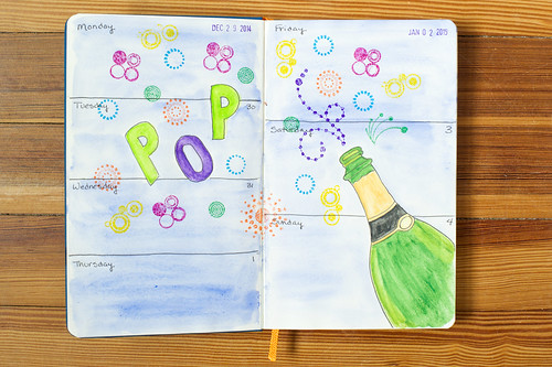 Sketchbook Journal 2015 - Week 1
