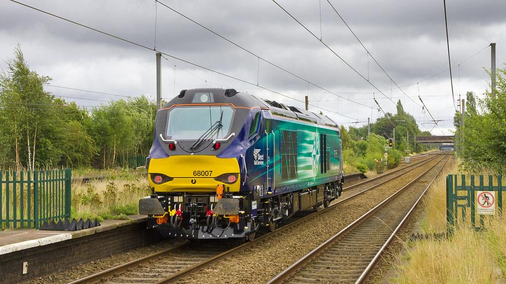 68007 'Valiant'  Leyland