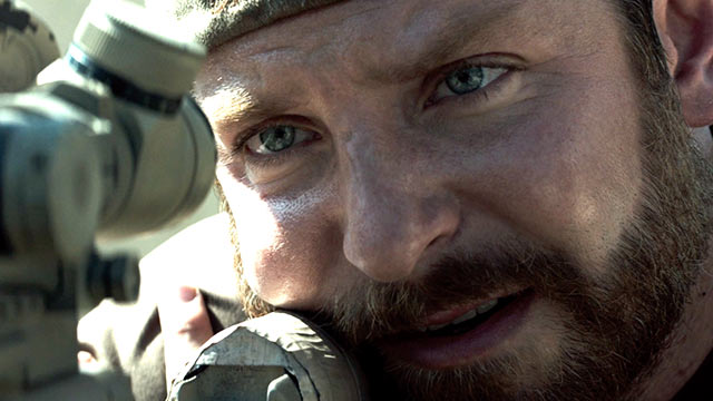 Bradley Cooper is the gifted Texan in AMERICAN SNIPER.