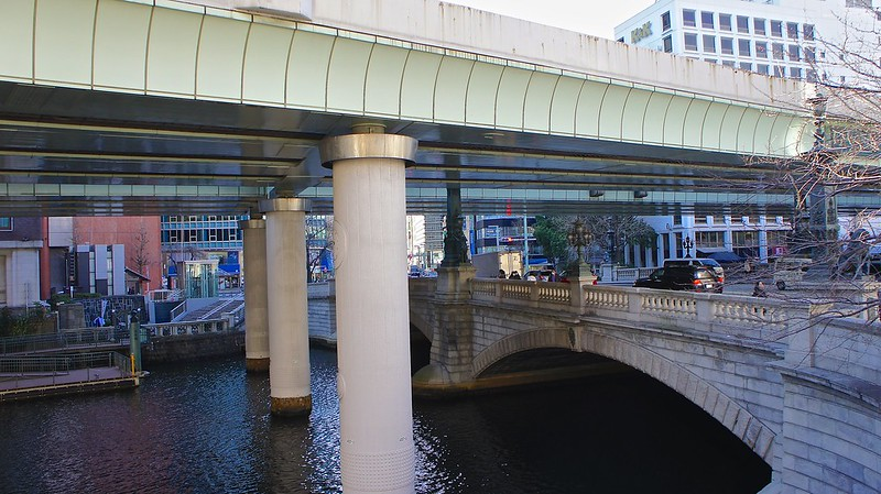 The overhead Bridge at Nihonbashi