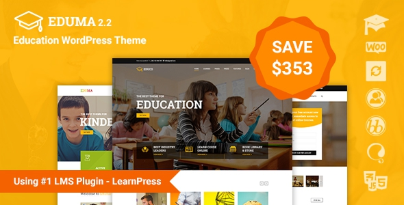 Eduma v2.7.6 - Education WordPress Theme