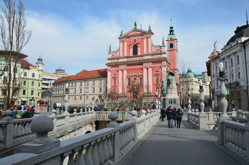 Ljubljana City centre - 3 places to visit in Slovenia