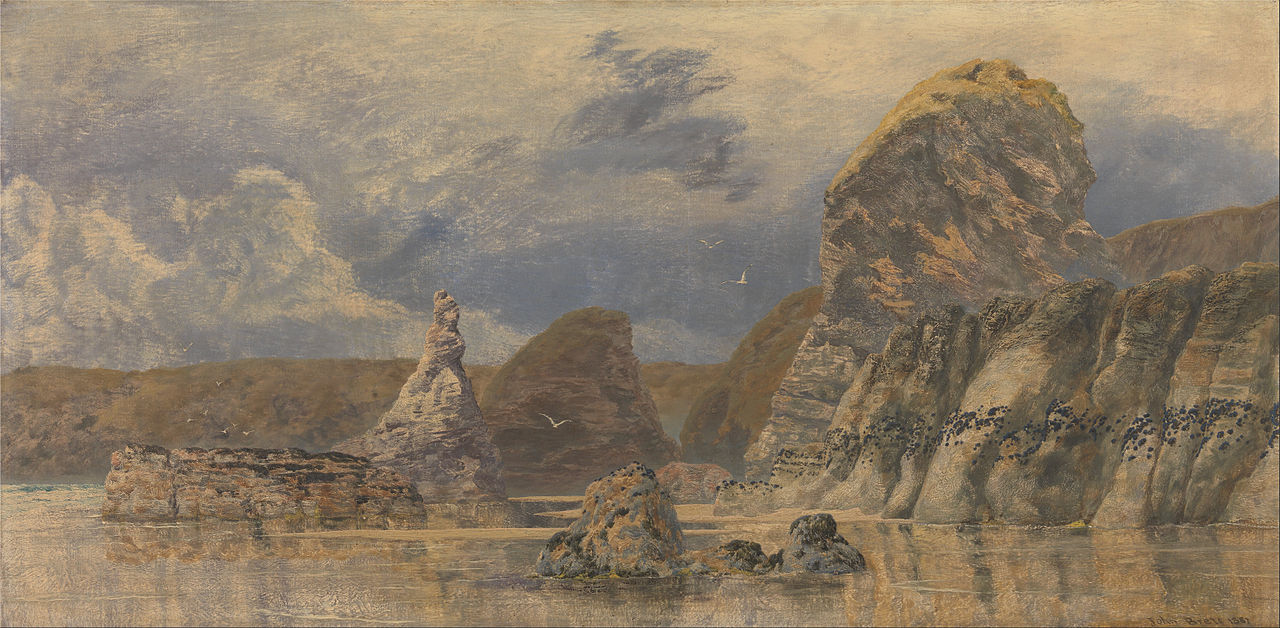 John Brett - Seascape, 1887