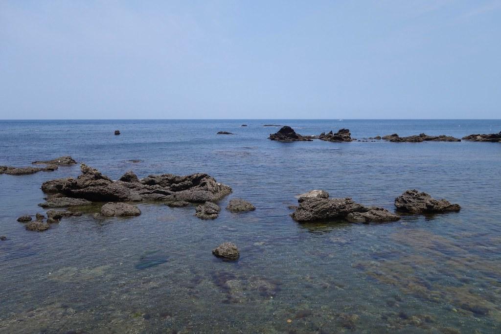輪島から日本海沿いに南下する