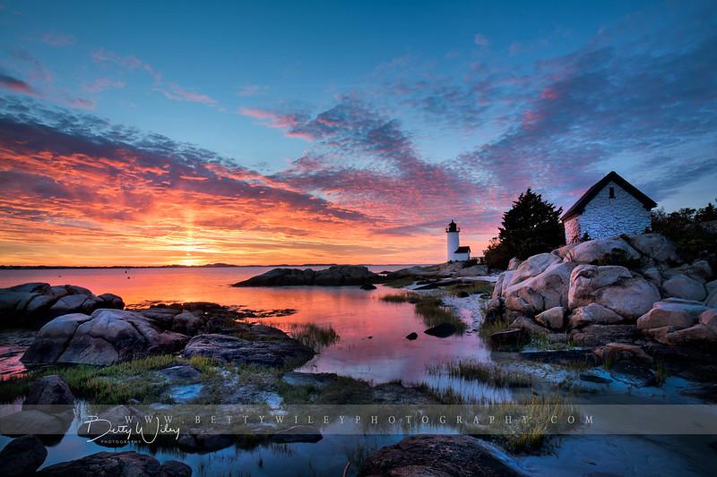 Sunset at Annisquam Light - explored