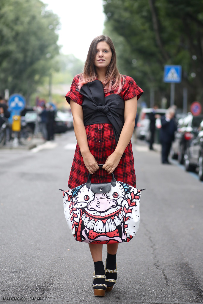 Annalisa at Milan fashion week