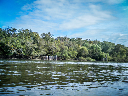 Savannah River from Stokes Bluff with LCU Nov 7, 2014, 4-18 PM Nov 8, 2014, 1-20 PM