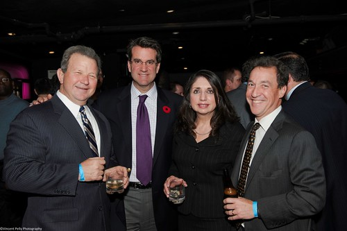 Steve Daffron and Ron Kolber and Lynette and Hank Hyatt