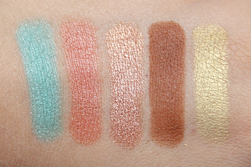 Anastsasia Maya mia eyeshadow palette swatch2