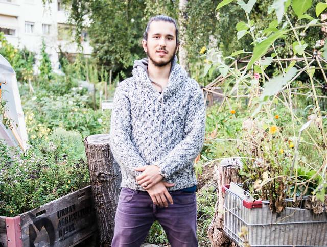 Bastiaan Frich ist Urban Gardener