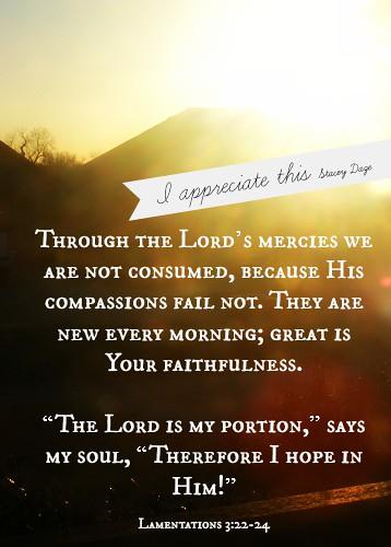 appreciate hope