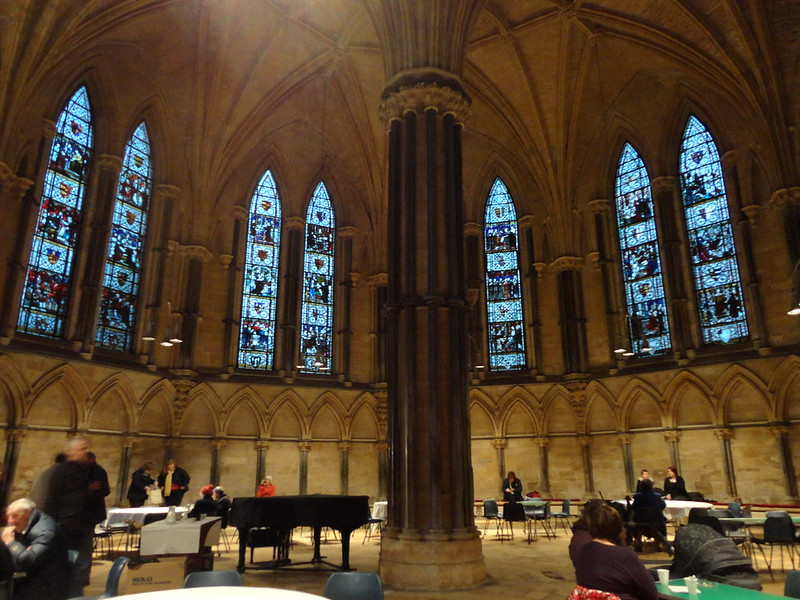 Tea in the chapter house