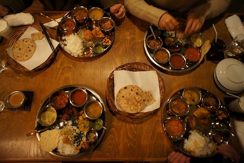 Dinner meals & thali