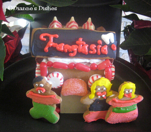Fangtasia Gingerbread House