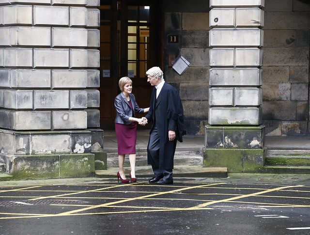 Nicola Sturgeon sworn in as First Minister of Scotland