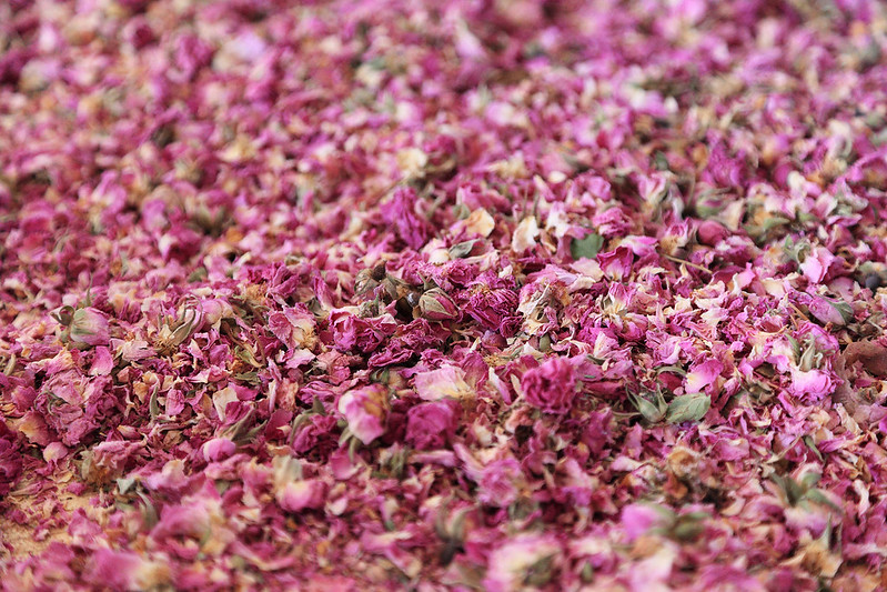 Rose drying