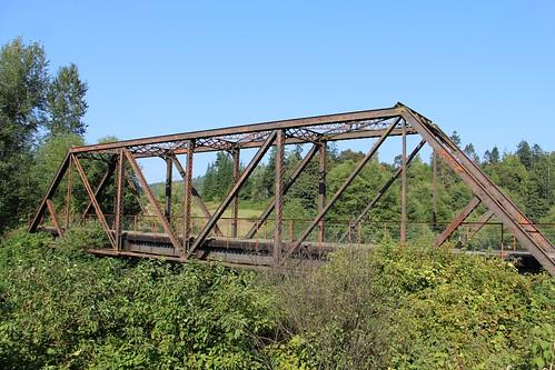 Northern Pacific Rwy Willapa River Bridge MP 43 (Pacific County, Washington)