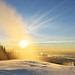 New Year's Day sunrise at Grouse Mountain Ski Hills by Lijuan Guo Photography ( Hollow Bamboo)