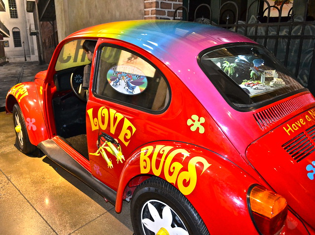 Audubon Insectarium - love bug exhibit