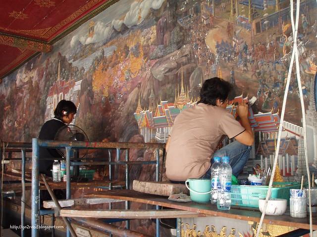 Бангкок, реконструкция дворца