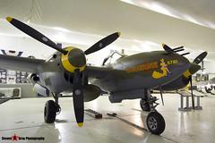 NX2114L 44-27083 5781 Tangerine - 422-8087 - Lockeed P-28L Lightning - Tillamook Air Museum - Tillamook, Oregon - 131025 - Steven Gray - IMG_8060