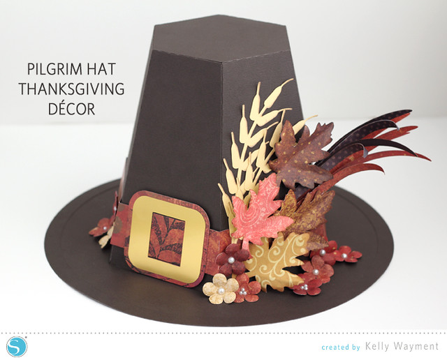 Pilgrim Hat Decor by Kelly Wayment for Silhouette