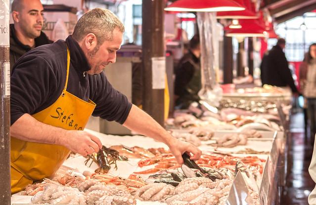 Il Mercato Ittico all'ingrosso di Chioggia