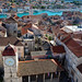 Trogir viewed from St Lawrence's Cathedral's bell tower, Trogir, Croatia by Miche & Jon Rousell
