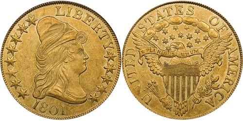 1801 $10 Gold