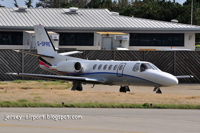 G-SPRE Cessna 550 Citation Bravo