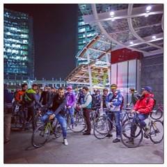 Nice group ride in Milano #nopainnogain3 @@lecoqsportif @@ferriveloci